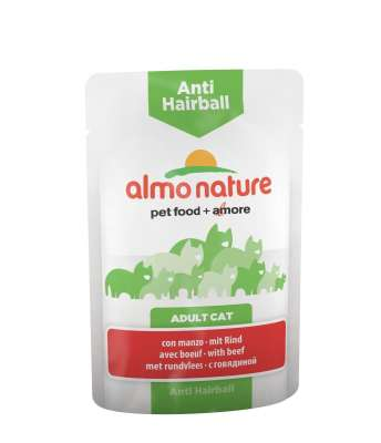 Almo Nature Anti Hairball Naudanlihaa 70 g
