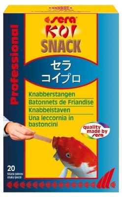 Koi snack von sera 25 g g nstig online bestellen for Besondere teichfische