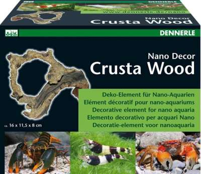 Dennerle Nano Crusta Wood M 16x11.5x8 cm