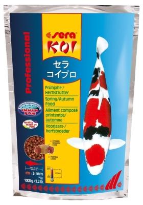 Sera KOI Professional aliment composé printemps/automne 1 kg