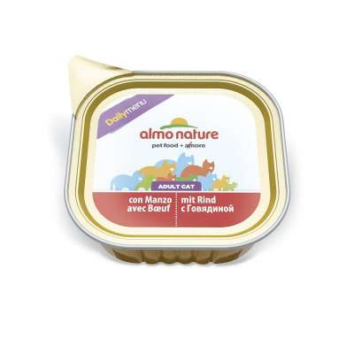 Almo Nature DailyMenu Adult Cat con Manzo 100 g, 32x100 g