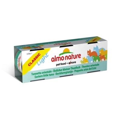 Almo Nature Classic Light Ostlicher kleiner Thunfisch 3x50 g