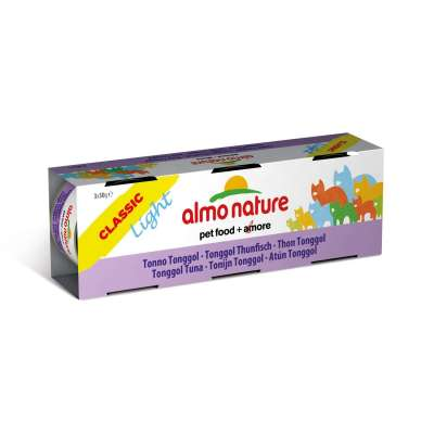 Almo Nature Classic Cluster Light Tonggol Thunfisch 3x50 g