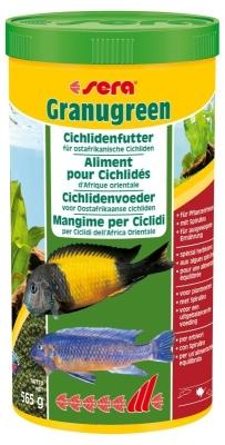 Sera Granugreen  565 g, 55 g, 20 g, 135 g