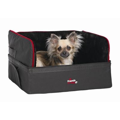 Trixie Autostoel voor kleine honden, zwart 45x38x37 cm