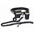 Trixie Waist Belt with Leash, black