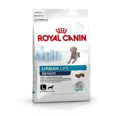 Royal Canin Lifestyle Health Nutrition - Urban Life Senior Large  9 kg, 3 kg
