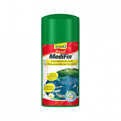 Tetra Pond MediFin  500 ml, 250 ml