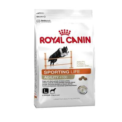 Royal Canin Lifestyle Health Nutrition - Sporting Life Agility 4100 Large  15 kg, 3 kg