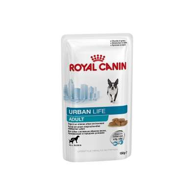 Royal Canin Lifestyle Health Nutrition - Urban Life Adult Kastikkeessa  150 g