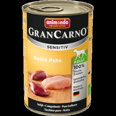 Animonda GranCarno Sensitive Adult Pute Pur  200 g, 800 g, 400 g