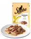 Portion sachets Delicate Duo Rabbit & Poultry in Sauce fra Sheba 12x85 g test