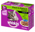 Whiskas Fresh pouch Multipack 7+ meat & fish selection  nätaffär
