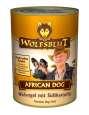 African Dog Wilde vogels en zoete aardappel 395 g van Wolfsblut