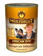 African Dog Wilde vogels en zoete aardappel Wolfsblut 395 g