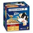 Felix Multipack Sensations Saus Surprise 24x100 g - Kattenvoer voor volwassen katten