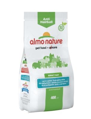 Almo Nature Holistic Anti-Hairball Fisch und Kartoffeln 2 kg, 400 g