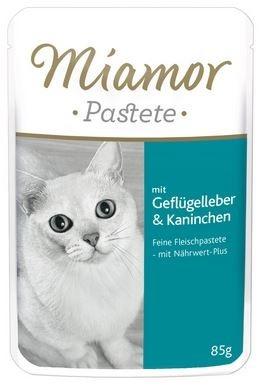 Miamor Beutel Pastete - Geflügelleber & Kaninchen 85 g