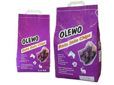 OLEWO Rote Bete-Chips/Granulat für Hund, Pferd & Nager 7.5 kg