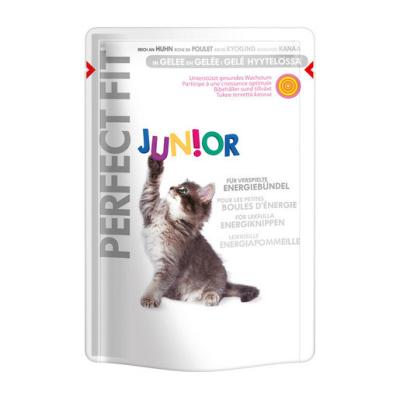 Perfect Fit Cat Junior Kyckling 12x85 g