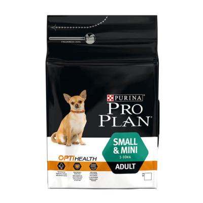 Purina Pro Plan Small & Mini Adult kansaa OPTIHEALTH runsaasti Kanaa  700 g, 7 kg, 3 kg
