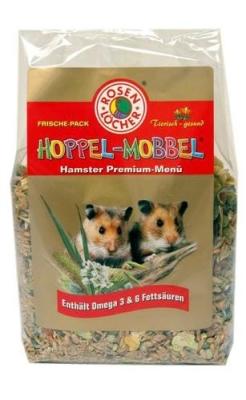 Rosenlöcher Hoppel Mobbel Hamster Premium Menü  500 g
