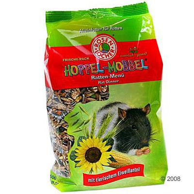 Rosenlöcher Hoppel Mobbel Ratten Menü  600 g