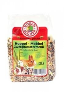 Rosenlöcher Hoppel Mobbel Zwerghamstermenü für alle Kleinnager  700 g