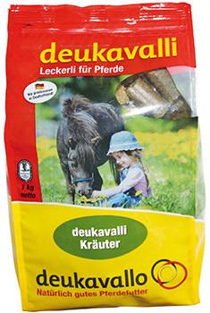 Deukavalli Leckerli für Pferde mit Kräutern  1 kg