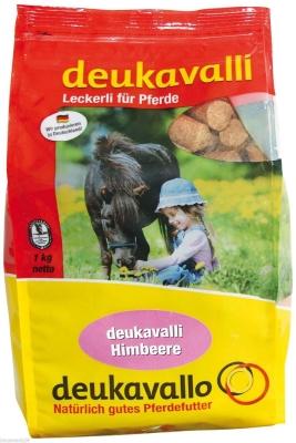 Deukavalli Leckerli für Pferde mit Himbeere  1 kg