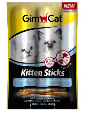 GimCat Kitten Sticks mit Truthahn & Calcium 9 g