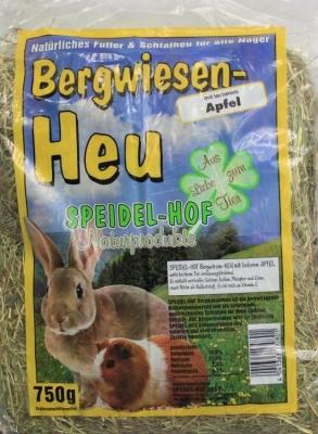Speidel-Hof Bergwiesenheu mit Apfel  750 g