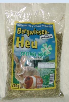 Speidel-Hof Bergwiesen-Heu mit Pfefferminze 750 g