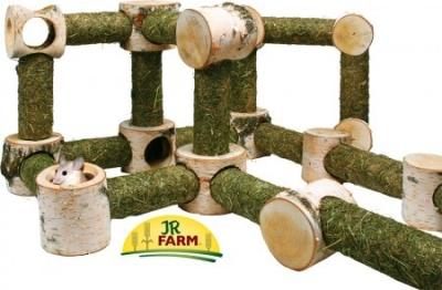 JR Farm Tunnelo Erweiterung A: Winkel 90° + Tunnel 400 g