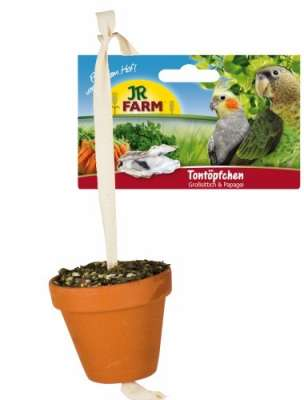 JR Farm Birds Tontöpfchen für Großsittiche & Papageien  260 g