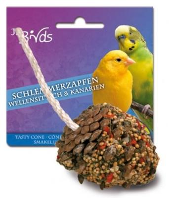 JR Farm Birds Schlemmer-Zapfen Wellensittiche und Kanarien  2x120 g