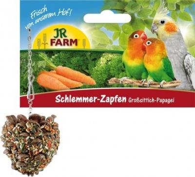 JR Farm Birds Schlemmer-Zapfen für Großsittiche & Papageien  195 g