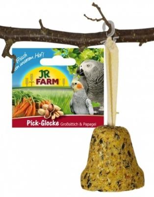 JR Farm Birds Pick-Glocke für Großsittiche & Papageien  160 g