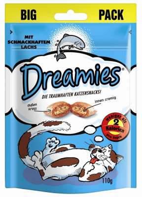 Dreamies Laks Laks 6x110 g