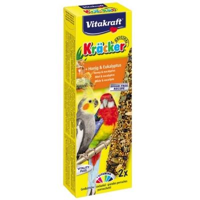 Vitakraft Kräcker Original + Honig & Eukalyptus  180 g