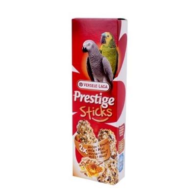 Versele Laga Prestige Sticks für Papageien Nüsse & Honig (2Stk)  140 g