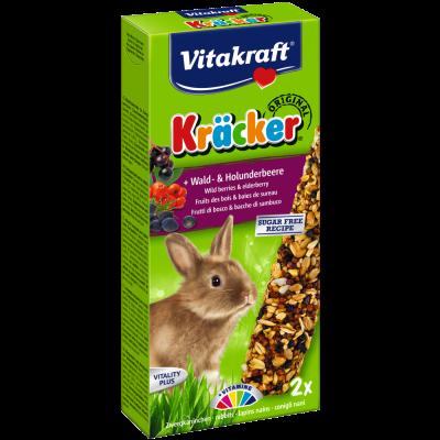 Vitakraft Cracker con Frutti di bosco per Conigli Nani