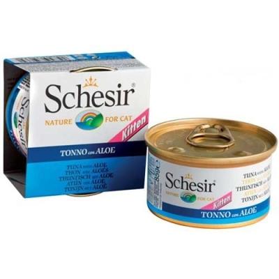 Schesir Kitten - tonnikala & aloe 85 g