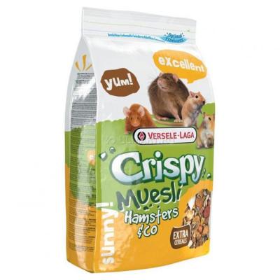 Versele Laga Crispy Muesli - Hamster & Co  20 kg, 1 kg