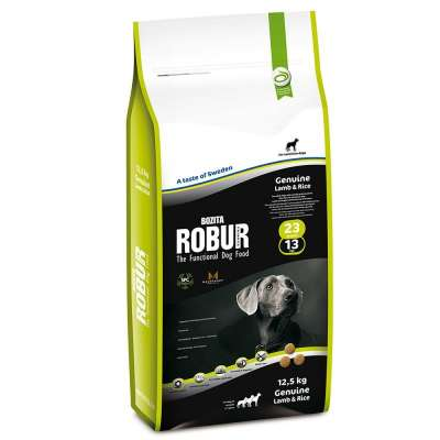 Bozita Robur  Genuine Lamb & Rice  5 kg, 2 kg, 12.5 kg