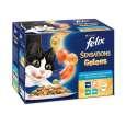 A termékeket gyakran együtt vásárolják a következővel: Felix Sensations Jellies Halas Válogatás Aszpikban