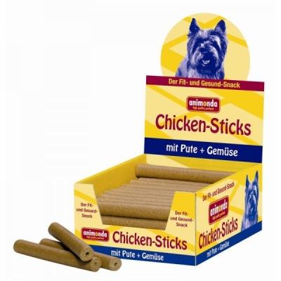 Animonda Snack Pack - Chicken Sticks Turkey & Vegetable Kalkun & Grønnsak 50x50 g
