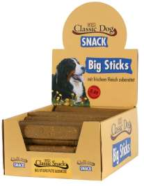 Snack Big Sticks Turkey & Vegetables Classic Dog 4250016800156