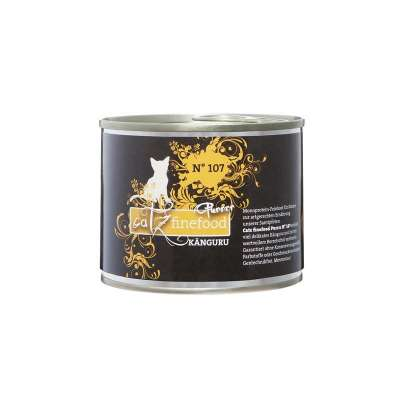 Catz Finefood No.107 Kangoeroe in de Blik 80 g, 750 g, 375 g, 190 g, 85 g, 800 g, 400 g, 200 g
