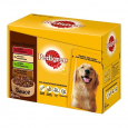 Pouches Real Meals in Gravy Pedigree 12x100 g